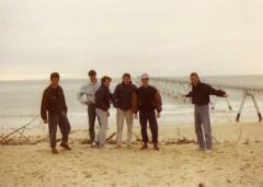 Il 1° sbarco in camper, in Francia (+ a Nord...) in una lontana Pasqua tra Amici, alla fine degli anni '80...